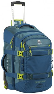 Сумка-рюкзак на колесах Granite Gear Cross Trek W/Pack 74 Bleumine/Blue Frost/Neolime (923165)