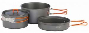 Набор посуды Vango Hard Anodised Adventure Cook Kit Grey (925250)