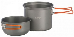 Набор посуды Vango Hard Anodised Cook Kit 1 Person Grey (925251)