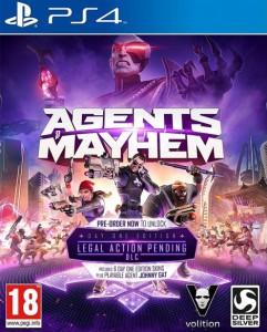 скриншот Agents of Mayhem Day One Edition PS4 - Agents of Mayhem. Издание первого дня - Русская версия #11