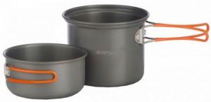 Набор посуды Vango Hard Anodised Cook Kit 2 Person Grey (925252)