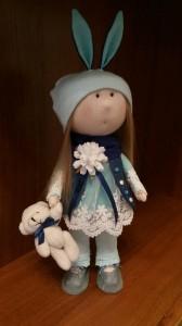 Кукла ручной работы ' Агнесса ', 30 см