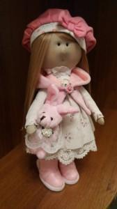 Кукла ручной работы ' Камилла ', 30 см