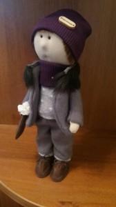 Кукла ручной работы 'Марк', 30 см
