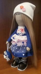Кукла ручной работы ' Снежана' , 30 см