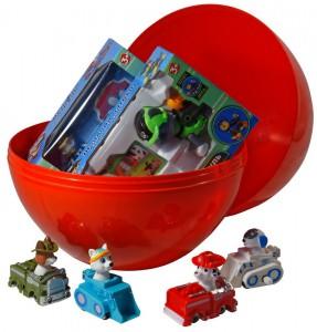 фото Яйцо-сюрприз с игрушками 'Щенячий патруль' #2