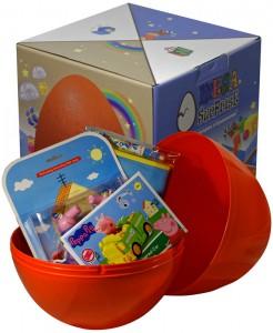 фото Яйцо-сюрприз с игрушками 'Свинка Пеппа' (для мальчика) #2
