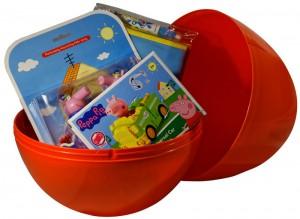 фото Яйцо-сюрприз с игрушками 'Свинка Пеппа' (для мальчика) #3
