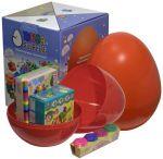 Подарок Яйцо-сюрприз с игрушками 'Творчество'