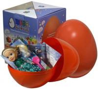Подарок Яйцо-сюрприз с игрушками 'Холодное сердце'