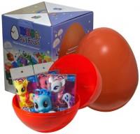 Подарок Яйцо-сюрприз с игрушками 'Пони'