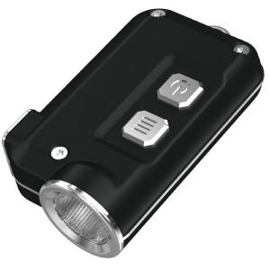 Фонарь Nitecore TINI (Cree XP-G2 S3 LED, 380 люмен, 4 режима, USB), черный (6-1285-black)