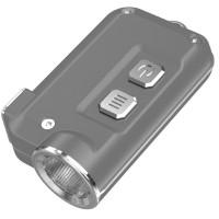 Фонарь Nitecore TINI (Cree XP-G2 S3 LED, 380 люмен, 4 режима, USB), серый (6-1285-grey)