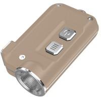 Фонарь Nitecore TINI (Cree XP-G2 S3 LED, 380 люмен, 4 режима, USB), золотой (6-1285-gold)