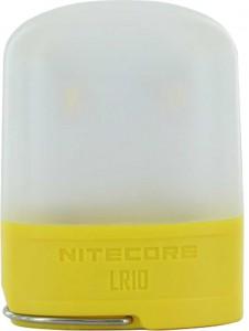 Фонарь  кемпинговый Nitecore LR10 (High CRI LED, 250 люмен, 6 режимов, USB), желтый (6-1283-yellow)