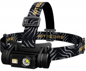 Фонарь налобный Nitecore HC65 (Cree XM-L2 U2 + RED LED, 1000 люмен, 12 режимов, 1x18650, USB) (6-1287)