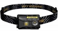 Фонарь налобный Nitecore NU25 (Сree XP-G2 S3, 360 люмен, 10 режимов, USB), черный (6-1288-black)