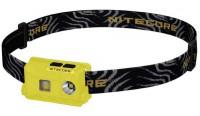 Фонарь налобный Nitecore NU25 (Сree XP-G2 S3, 360 люмен, 10 режимов, USB), желтый (6-1288-yellow)