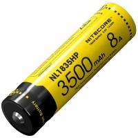 Аккумулятор литиевый Li-Ion 18650 Nitecore NL1835HP 3.6V (8A, 3500mAh), защищенный (6-1234-hp)