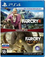 игра Набор Far Cry 4 + Far Cry Primal PS4 - Русская версия