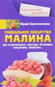 Книга Уникальное лекарство малина. При атеросклерозе, простуде, бесплодии, гипертонии, ожирении...