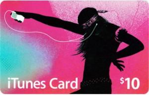 Игра iTunes Gift Card $10 USA
