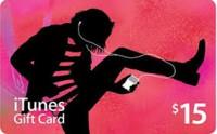 Игра iTunes Gift Card $15 USA