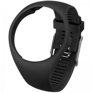 Сменный браслет для POLAR M200 Wristband размер S/M Black (91063448)