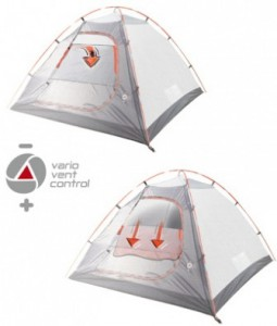 фото Палатка High Peak Nevada 3 Dark Grey Red (925389) #6