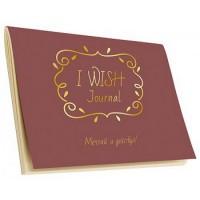 Книга Тетрадь I wish Journal