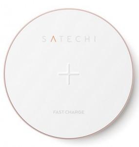 Беспроводное ЗУ для мобильных телефонов Satechi Wireless Charging Pad Gold (ST-WCPR)