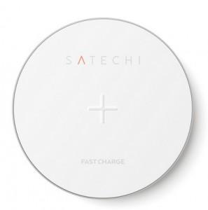 Беспроводное ЗУ для мобильных телефонов Satechi Wireless Charging Pad Silver (ST-WCPS)