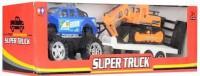 Джип 'Super Truck' инерционный, с прицепом (11809)