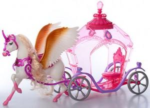 Карета 'Fashion Fairytale' с лошадью (83264)