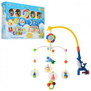 фото Карусель на кроватку Limo Toy 'Цветные сны' (M 1362 U/R/8501-7) #2