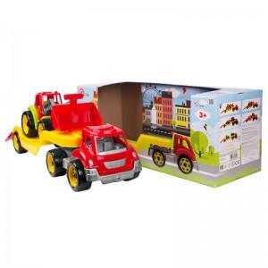 Игрушка  ТехноК  'Автовоз с трактором ' (3916)