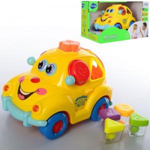 Музична машинка-сортер Limo Toy 'Автошка' (9170 UA)