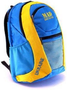 Рюкзак MAD Active+ kids, желто-синий (RUAK2050)
