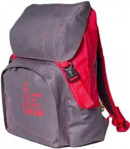 Рюкзак MAD Urban, серо-красный (RUR9001)