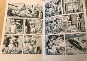 фото страниц Курт Кобейн. Графический роман #5
