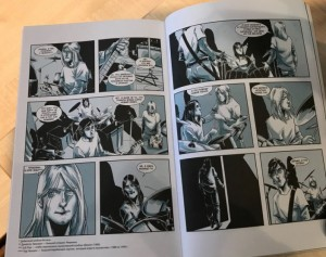 фото страниц Курт Кобейн. Графический роман #4