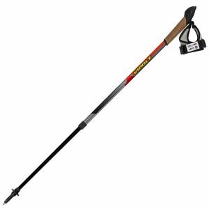 Палки для скандинавской ходьбы Vipole Instructor Vario Top-Click Red DLX S1855 (925372)