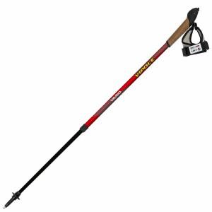 Палки для скандинавской ходьбы Vipole Vario Top-Click  Red DLX S1857 (925375)