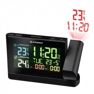 Проекционные часы Bresser Colour TP Black (925523)