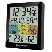 Термометр-гигрометр Bresser Temeo Hygro Quadro DLX  black (925519)