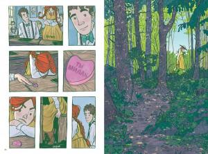 фото страниц Анна с фермы 'Зеленые крыши'. Графический роман #6