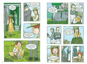 фото страниц Анна с фермы 'Зеленые крыши'. Графический роман #2