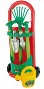 Игровой набор Ecoiffier Садовая тележка с инструментами (339)