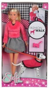 Кукла Simba Штеффи с долматинцем в модной одежде (5738053)