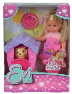 Кукольный набор Simba Эви Дом моего песика (5735867)
